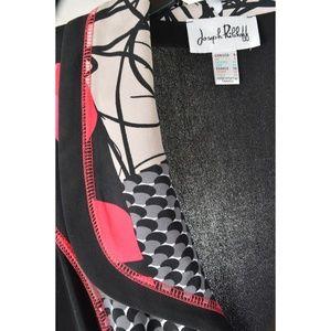 Joseph Ribkoff Jackets & Coats - Joseph Ribkoff jacket SZ 6 red white black zipper